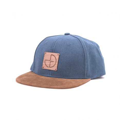 Snap-Back Cap Wooden Logo