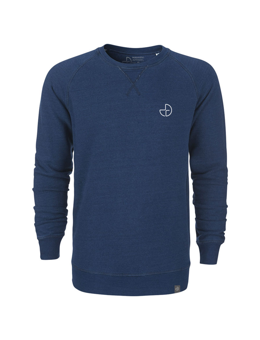 Herren Denim Sweater